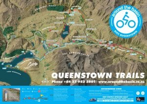 Queenstown Trail Map | Front
